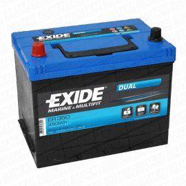 Exide ER350 - Dual Batteri (80 Amp)